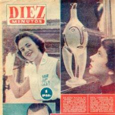 Coleccionismo de Revista Diez Minutos: DIEZ MINUTOS MARILYN MONROE / ARTHUR MILLER CONTRAPORTADA (VER IMAGENES) - Nº 257 29 E JULIO DE 1956. Lote 134877990