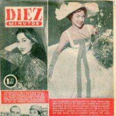 Coleccionismo de Revista Diez Minutos: DIEZ MINUTOS GRACE KELLY/RANIERO DE MONACO BODA DEL AÑO CONTRAPORTADA (VER) Nº243 22 ABRIL DE 1956. Lote 134878134
