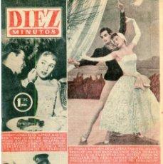 Coleccionismo de Revista Diez Minutos: DIEZ MINUTOS GRACE KELLY/RANIERO DE MONACO CONTRAPORTADA (VER) Nº231 29 DE ENERO DE 1956. Lote 134878262