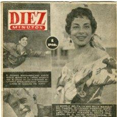 Coleccionismo de Revista Diez Minutos: DIEZ MINUTOS- MELITA/ ANTONIO PELUQUERO PARIS-248 PRISIONEROS DIVISION AZUL VUELVEN Nº136 / 4-4-1954. Lote 135270626