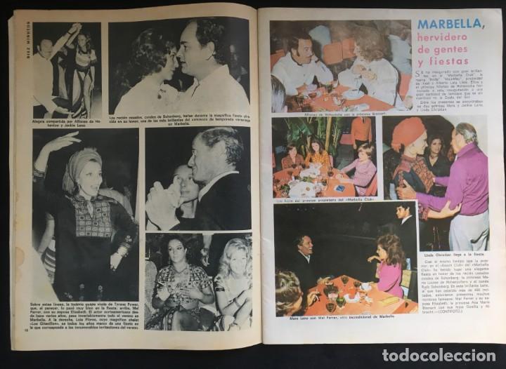 Coleccionismo de Revista Diez Minutos: DIEZ MINUTOS, DEL 18-8-71 AÑO XXI Nº 1042, EN PORTADA LA VERDAD SOBRE LA BODA DE LA HIJA DE ONASSIS - Foto 2 - 135689231