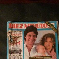Coleccionismo de Revista Diez Minutos: LAS GRECAS-JOSELITO-CANTUDO-LOLE Y MANUEL-ANDY GIBB-CAMILO SESTO-ISABEL PANTOJA PREYSLER. Lote 136273346