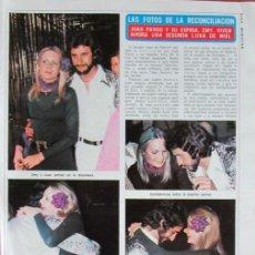 Coleccionismo de Revista Diez Minutos: RECORTE DIEZ MINUTOS 1191 1974 JUAN PARDO. Lote 136592438