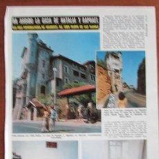 Coleccionismo de Revista Diez Minutos: RECORTE DIEZ MINUTOS 1191 1974 RAPHAEL Y NATALIA FIGUEROA. Lote 136733550