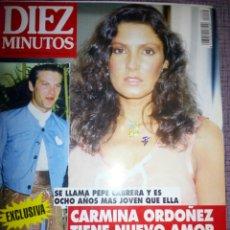 Coleccionismo de Revista Diez Minutos: REVISTA DIEZ MINUTOS, AGOSTO 1994. Lote 137323718