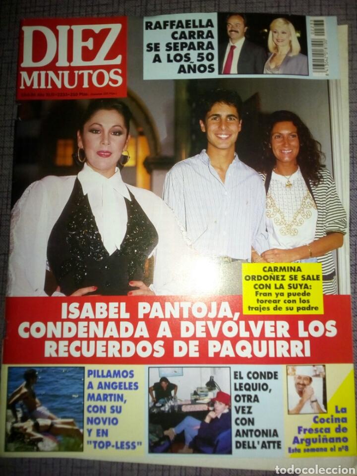 REVISTA DIEZ MINUTOS, JUNIO 1994, NÚMERO 2233 (Coleccionismo - Revistas y Periódicos Modernos (a partir de 1.940) - Revista Diez Minutos)
