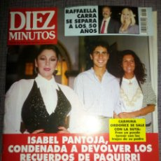 Coleccionismo de Revista Diez Minutos: REVISTA DIEZ MINUTOS, JUNIO 1994, NÚMERO 2233. Lote 137324773