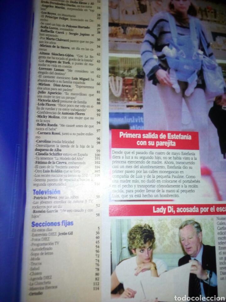 Coleccionismo de Revista Diez Minutos: Revista Diez minutos, junio 1994, número 2233 - Foto 4 - 137324773