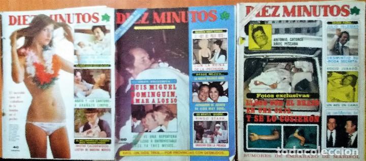 Coleccionismo de Revista Diez Minutos: DIEZ MINUTOS - Foto 2 - 138082702
