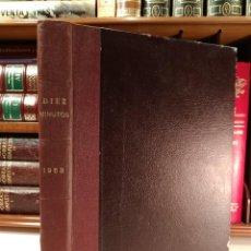 Coleccionismo de Revista Diez Minutos: REVISTA DIEZ MINUTOS. UN VOLUMEN CONTENIENDO LOS NÚMEROS 97 (FALTA EL Nº 98) A LA 122, AÑO 1953. Lote 138619010