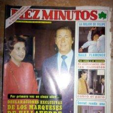 Coleccionismo de Revista Diez Minutos: REVISTA DIEZ MINUTOS 1980, NÚMERO 1527. Lote 138915537