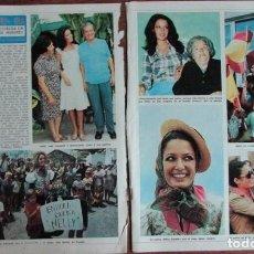 Coleccionismo de Revista Diez Minutos: RECORTE DIEZ MINUTOS Nº 1204 1974. MISS ESPAÑA. NELLY RODRIGUEZ. 2 PGS. Lote 139840626
