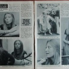 Coleccionismo de Revista Diez Minutos: RECORTE DIEZ MINUTOS Nº 1204 1974. VERONICA LUJAN. 2 PGS. Lote 139841274