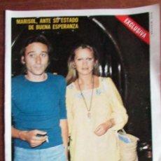 Coleccionismo de Revista Diez Minutos: RECORTE DIEZ MINUTOS Nº 1204 1974. MARISOL, PEPA FLORES, ANONIO GADES. 3 PGS. Lote 139841530