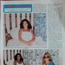 Coleccionismo de Revista Diez Minutos: RECORTE DIEZ MINUTOS Nº 1204 1974. LOLA FLORES. CARMEN SEVILLA. Lote 139841594