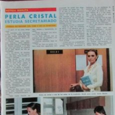 Coleccionismo de Revista Diez Minutos: RECORTE DIEZ MINUTOS Nº 1204 1974. PERLA CRISTAL. . Lote 139913634