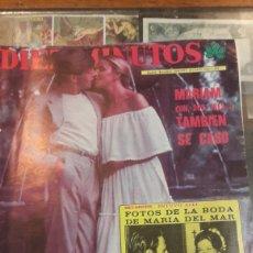 Coleccionismo de Revista Diez Minutos: DIEZ MINUTOS N 1356 AÑO 1977 MARIAM SE CASO BODA MARIA DEL MAR. Lote 140312984