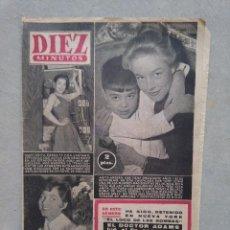 Coleccionismo de Revista Diez Minutos: DIEZ MINUTOS. 2 DE FEBRERO DE 1957. NUM 284. MARGARITA SIERRA ANITA ADBERG GENEVIEVE ZANETTI. Lote 140387018