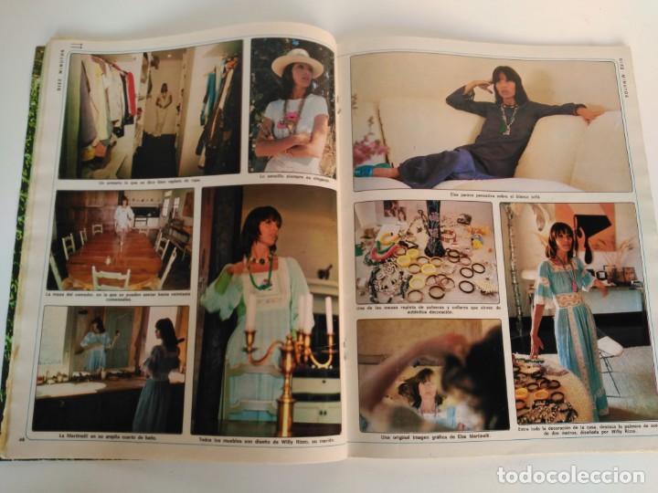 Coleccionismo de Revista Diez Minutos: Revista Diez Minutos 06-07-1974, Cristina Galbo, Cristina Siriani, Elsa Martinelli - Foto 3 - 147381724