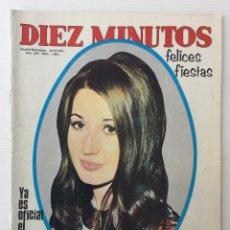 Coleccionismo de Revista Diez Minutos: REVISTA DIEZ MINUTOS Nº 1061 - 25/12/1971 – MARÍA DEL CARMEN MARTÍNEZ-BORDIÚ. Lote 141571362