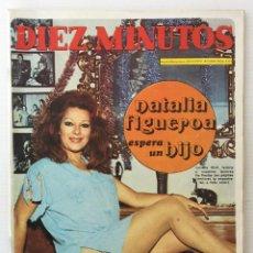 Coleccionismo de Revista Diez Minutos: REVISTA DIEZ MINUTOS Nº 1113 - 23/12/1972 – NATALIA FIGUEROA Y RAPHAEL ESPERAN UN HIJO. Lote 141815042