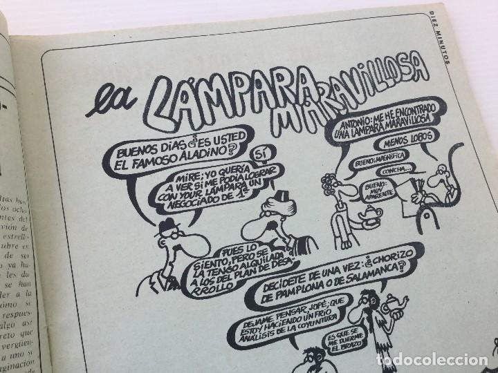 Coleccionismo de Revista Diez Minutos: Revista Diez Minutos nº 1116 - 13/01/1973 – Karina - Esthel Rojo - Foto 4 - 141848450