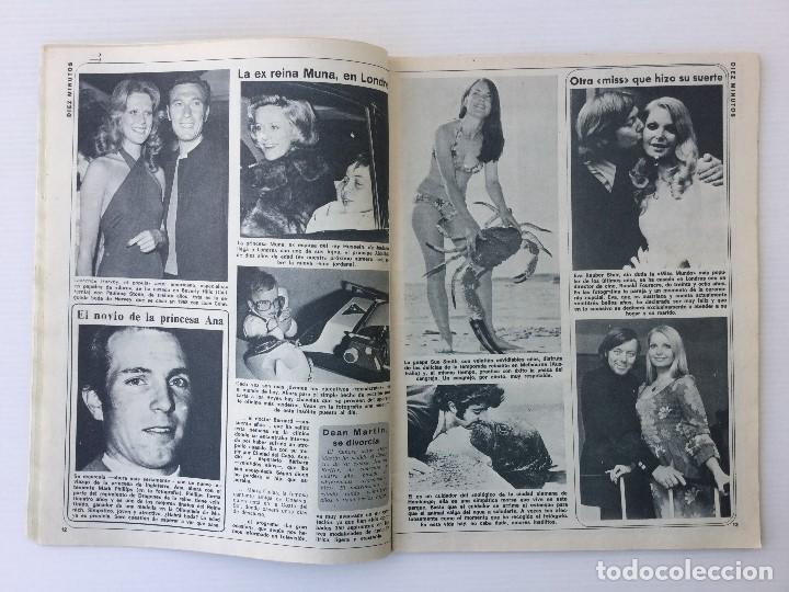 Coleccionismo de Revista Diez Minutos: Revista Diez Minutos nº 1116 - 13/01/1973 – Karina - Esthel Rojo - Foto 6 - 141848450