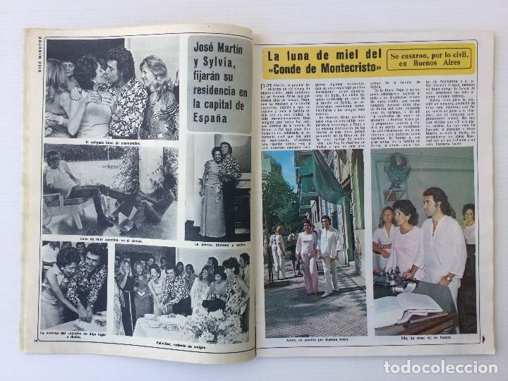 Coleccionismo de Revista Diez Minutos: Revista Diez Minutos nº 1116 - 13/01/1973 – Karina - Esthel Rojo - Foto 7 - 141848450
