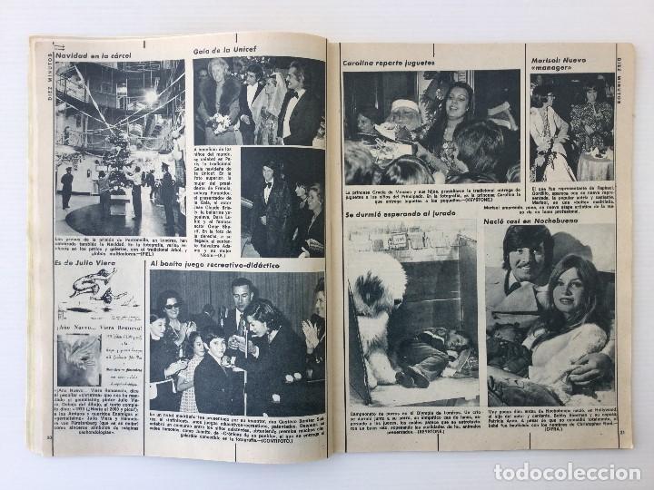 Coleccionismo de Revista Diez Minutos: Revista Diez Minutos nº 1116 - 13/01/1973 – Karina - Esthel Rojo - Foto 9 - 141848450