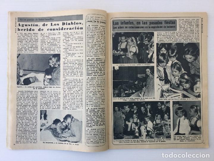 Coleccionismo de Revista Diez Minutos: Revista Diez Minutos nº 1116 - 13/01/1973 – Karina - Esthel Rojo - Foto 10 - 141848450