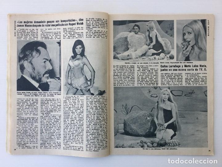 Coleccionismo de Revista Diez Minutos: Revista Diez Minutos nº 1116 - 13/01/1973 – Karina - Esthel Rojo - Foto 11 - 141848450