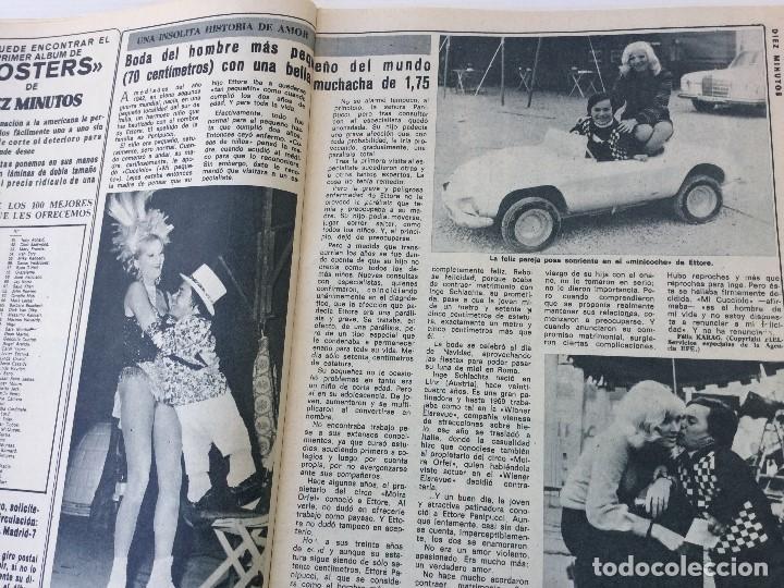 Coleccionismo de Revista Diez Minutos: Revista Diez Minutos nº 1116 - 13/01/1973 – Karina - Esthel Rojo - Foto 13 - 141848450