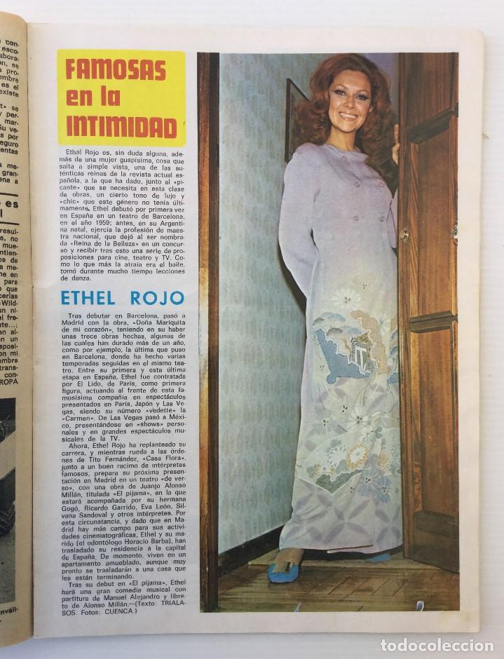 Coleccionismo de Revista Diez Minutos: Revista Diez Minutos nº 1116 - 13/01/1973 – Karina - Esthel Rojo - Foto 14 - 141848450
