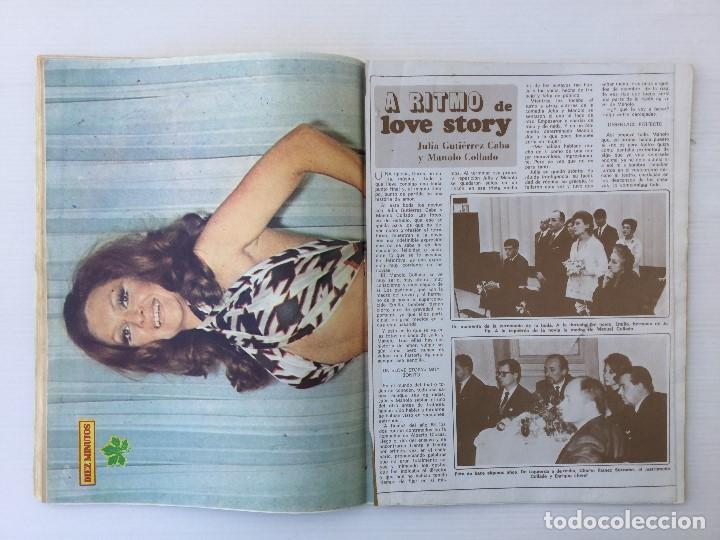 Coleccionismo de Revista Diez Minutos: Revista Diez Minutos nº 1116 - 13/01/1973 – Karina - Esthel Rojo - Foto 17 - 141848450