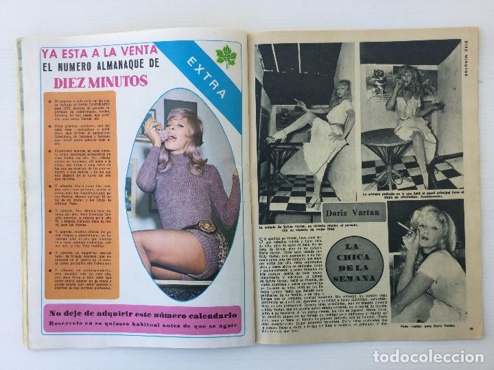 Coleccionismo de Revista Diez Minutos: Revista Diez Minutos nº 1116 - 13/01/1973 – Karina - Esthel Rojo - Foto 21 - 141848450