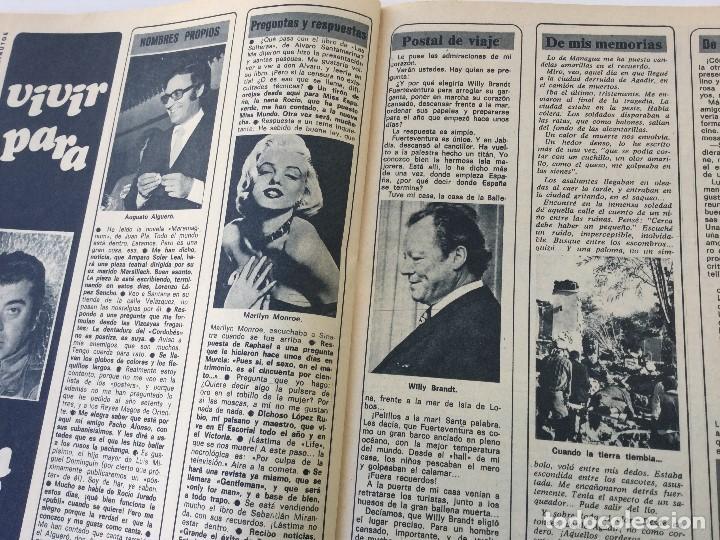 Coleccionismo de Revista Diez Minutos: Revista Diez Minutos nº 1116 - 13/01/1973 – Karina - Esthel Rojo - Foto 22 - 141848450