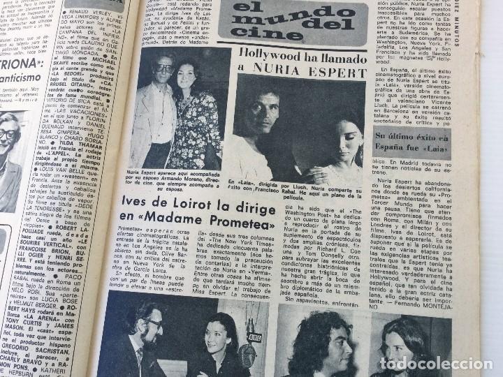 Coleccionismo de Revista Diez Minutos: Revista Diez Minutos nº 1116 - 13/01/1973 – Karina - Esthel Rojo - Foto 23 - 141848450