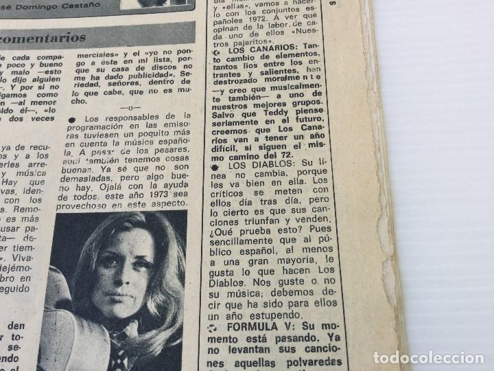 Coleccionismo de Revista Diez Minutos: Revista Diez Minutos nº 1116 - 13/01/1973 – Karina - Esthel Rojo - Foto 24 - 141848450