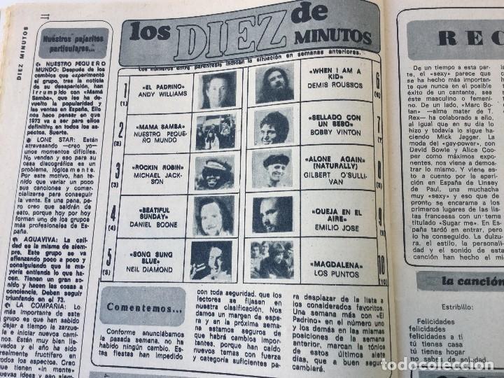 Coleccionismo de Revista Diez Minutos: Revista Diez Minutos nº 1116 - 13/01/1973 – Karina - Esthel Rojo - Foto 25 - 141848450