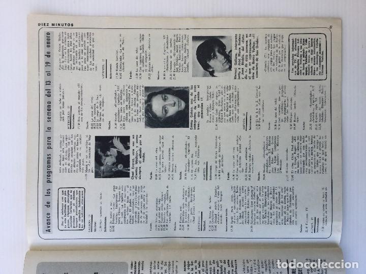 Coleccionismo de Revista Diez Minutos: Revista Diez Minutos nº 1116 - 13/01/1973 – Karina - Esthel Rojo - Foto 30 - 141848450