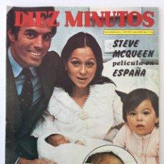 Coleccionismo de Revista Diez Minutos: REVISTA DIEZ MINUTOS Nº 1124 - 10/03/1973 – JULIO IGLESIAS - FELIX RODRIGUEZ DE LA FUENTE. Lote 141902602