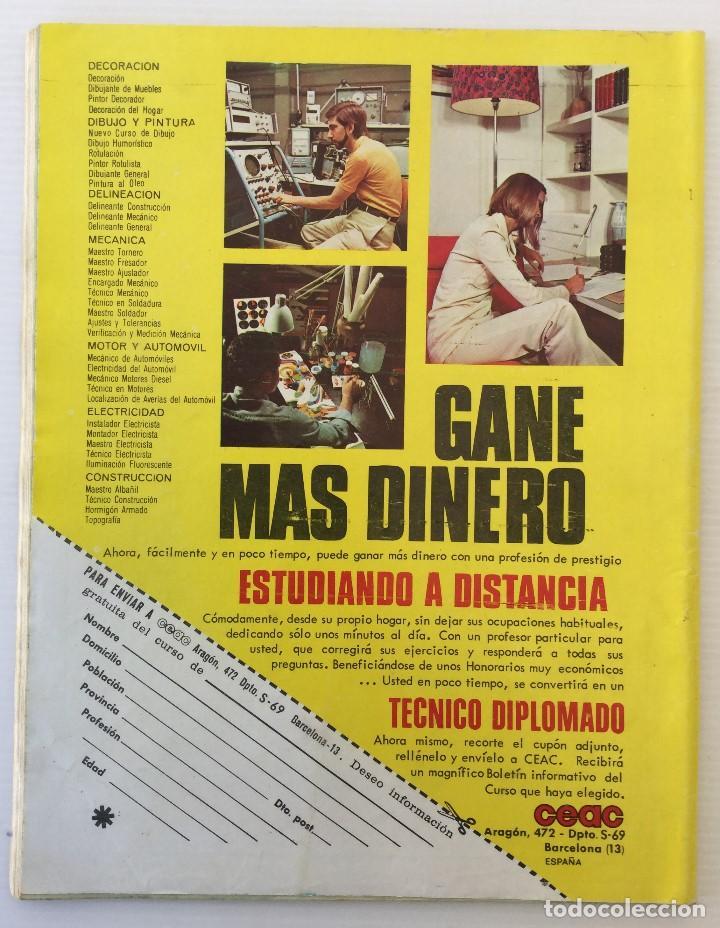 Coleccionismo de Revista Diez Minutos: Revista Diez Minutos nº 1140 - 30/06/1973 – Raphael y El Cordobés - Foto 2 - 142038222