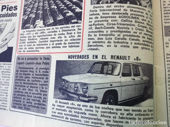 Coleccionismo de Revista Diez Minutos: Revista Diez Minutos nº 1140 - 30/06/1973 – Raphael y El Cordobés - Foto 5 - 142038222