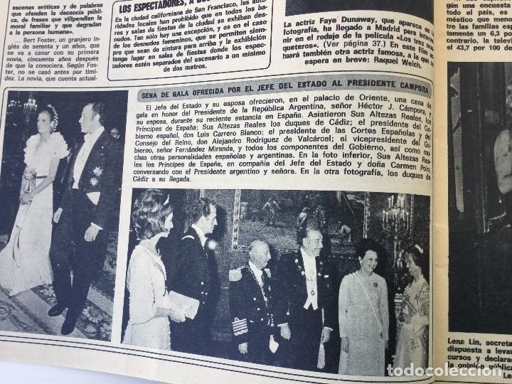 Coleccionismo de Revista Diez Minutos: Revista Diez Minutos nº 1140 - 30/06/1973 – Raphael y El Cordobés - Foto 7 - 142038222