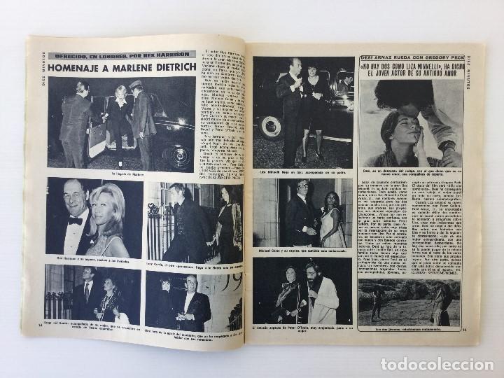 Coleccionismo de Revista Diez Minutos: Revista Diez Minutos nº 1140 - 30/06/1973 – Raphael y El Cordobés - Foto 9 - 142038222