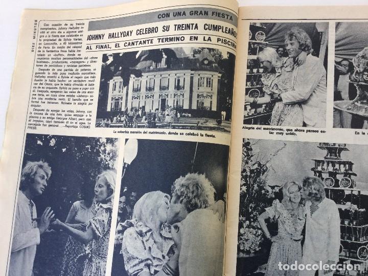 Coleccionismo de Revista Diez Minutos: Revista Diez Minutos nº 1140 - 30/06/1973 – Raphael y El Cordobés - Foto 10 - 142038222