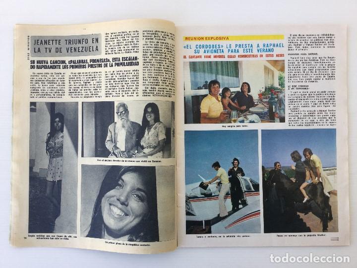 Coleccionismo de Revista Diez Minutos: Revista Diez Minutos nº 1140 - 30/06/1973 – Raphael y El Cordobés - Foto 11 - 142038222