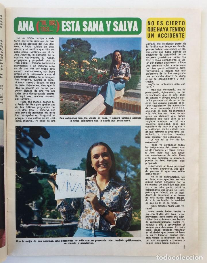 Coleccionismo de Revista Diez Minutos: Revista Diez Minutos nº 1140 - 30/06/1973 – Raphael y El Cordobés - Foto 13 - 142038222