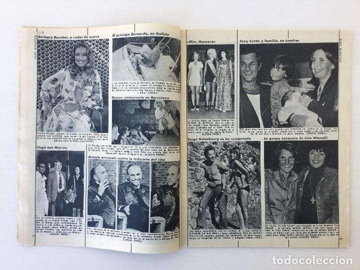 Coleccionismo de Revista Diez Minutos: Revista Diez Minutos nº 1140 - 30/06/1973 – Raphael y El Cordobés - Foto 14 - 142038222