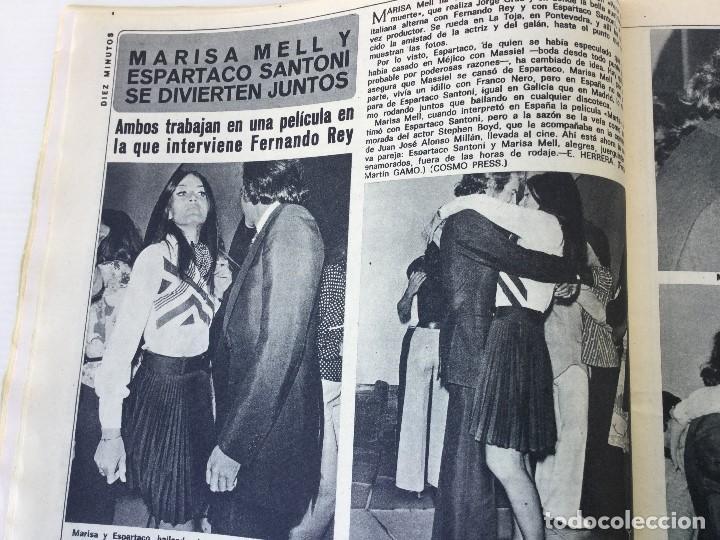 Coleccionismo de Revista Diez Minutos: Revista Diez Minutos nº 1140 - 30/06/1973 – Raphael y El Cordobés - Foto 16 - 142038222